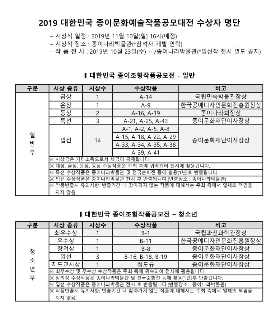 2019 공모대전_심사결과 _1.jpg